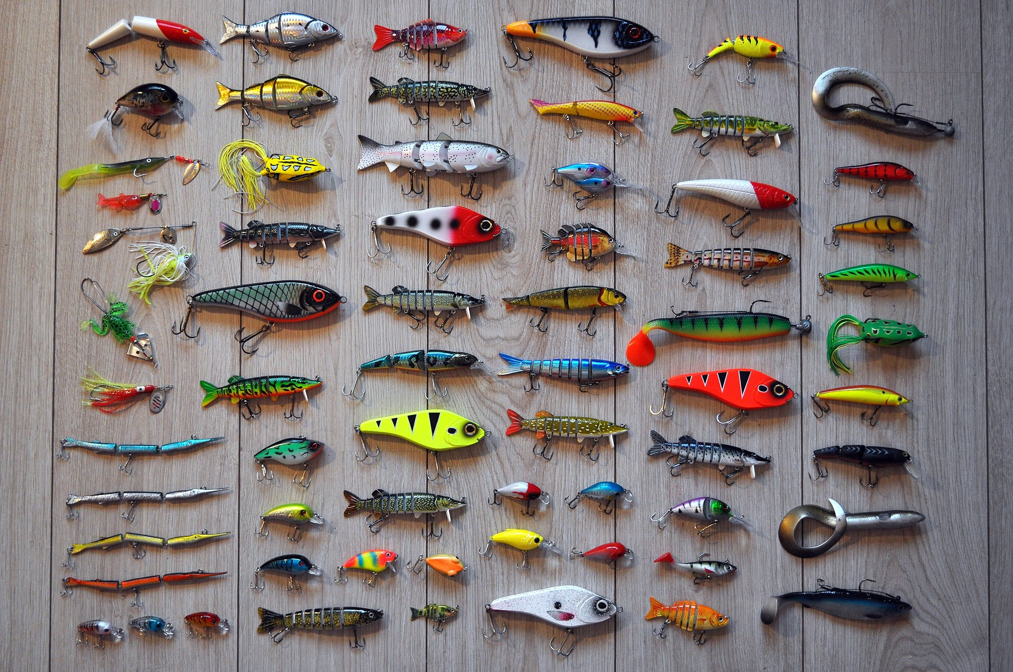 musky lure and tackle swap